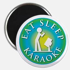 Eat Sleep KARAOKE Magnet