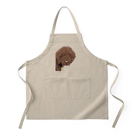 Chocolate Labradoodle 2 Apron