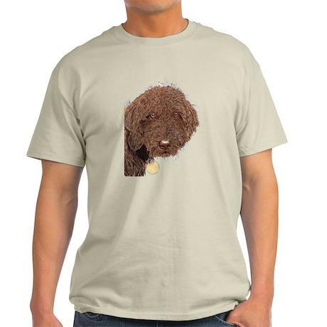 Chocolate Labradoodle 2 Light T-Shirt