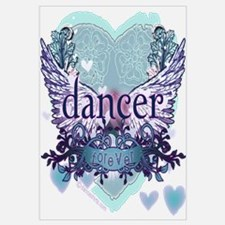 dancer forever by DanceShirts.com Wall Art