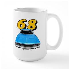 68 Charger Large Mug