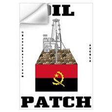 Angola Oil Patch Wall Art,Oil,Gas Wall Decal