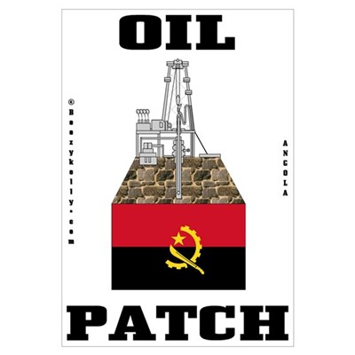 Angola Oil Patch Wall Art,Oil,Gas Poster