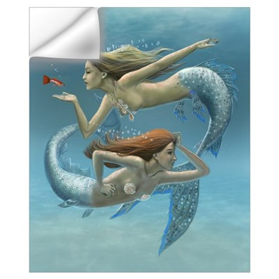 Siren Sisters Wall Art Wall Decal