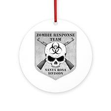 Zombie Response Team: Santa Rosa Division Ornament