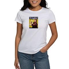 Women's T-Shirt -We CanaDo it!