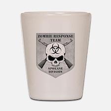 Zombie Response Team: Spokane Division Shot Glass