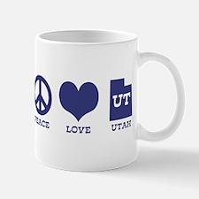 Peace Love Utah Mug