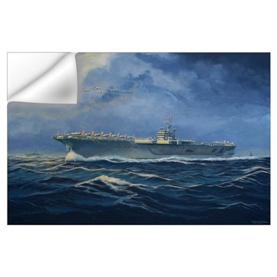 USS John F. Kennedy Wall Art Wall Decal