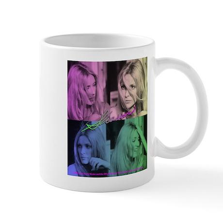 Sharon Tate Colorful Quad Mug