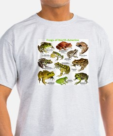 Frogs of North America T-Shirt