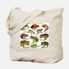 Frogs of North America Tote Bag
