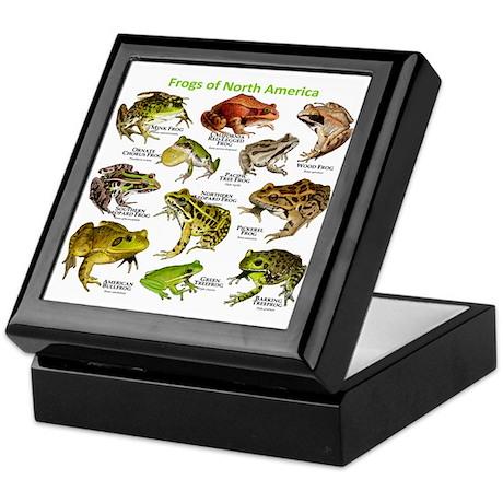 Frogs of North America Keepsake Box