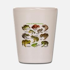 Frogs of North America Shot Glass