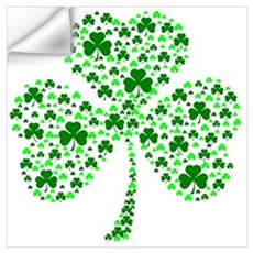 Irish Shamrocks Wall Art Wall Decal