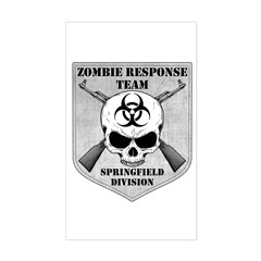 Zombie Response Team: Springfield Division Decal