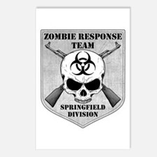 Zombie Response Team: Springfield Division Postcar