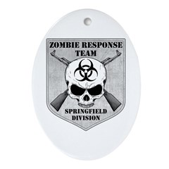 Zombie Response Team: Springfield Division Ornamen
