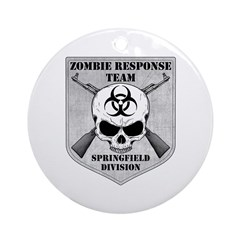 Zombie Response Team: Springfield Division Ornamen