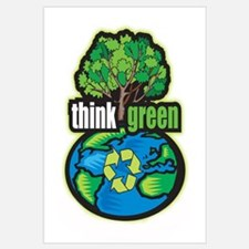 Think Green Wall Art