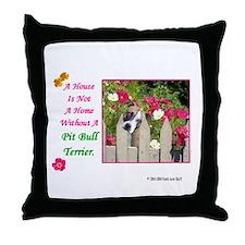 Unique Pit bull terrier items Throw Pillow
