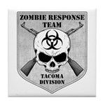 Zombie Response Team: Tacoma Division Tile Coaster