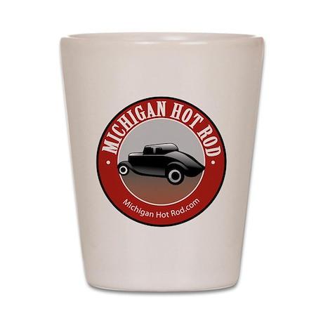 Michigan Hot Rod Shot Glass