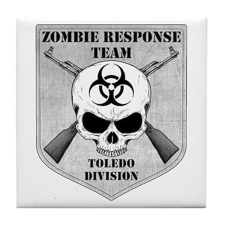 Zombie Response Team: Toledo Division Tile Coaster