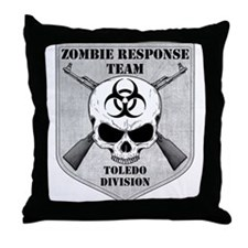 Zombie Response Team: Toledo Division Throw Pillow