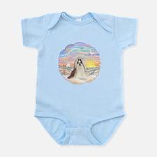 OceanSunrise-ShihTzu#10 Infant Bodysuit