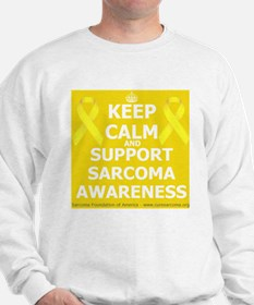 Keep Calm Sarcoma Awareness Sweatshirt