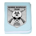 Zombie Response Team: Topeka Division baby blanket