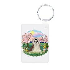 Blossoms-ShihTzu#10 Keychains