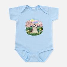 Blossoms-ShihTzu#10 Infant Bodysuit