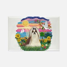 AutumnSun-ShihTzu#10 Rectangle Magnet