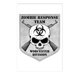 Zombie Response Team: Worcester Division Postcards