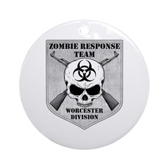 Zombie Response Team: Worcester Division Ornament