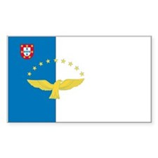 Azores Rectangle Decal