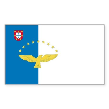 Azores Rectangle Sticker