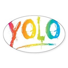YOLO Bright Decal