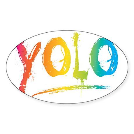 YOLO Bright Sticker