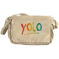 Funny End world Messenger Bag