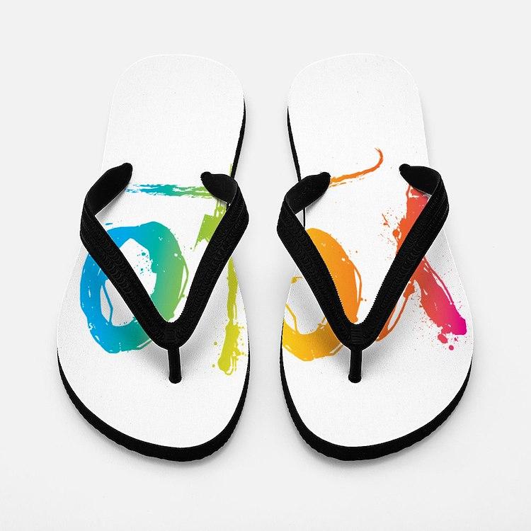 Cute Yolo Flip Flops