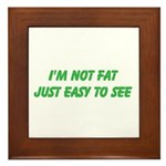not fat Framed Tile