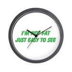 not fat Wall Clock