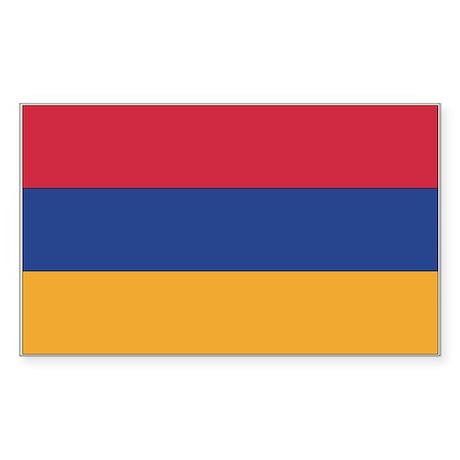 Armenia Rectangle Sticker