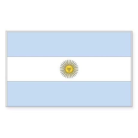 Argentina Rectangle Sticker