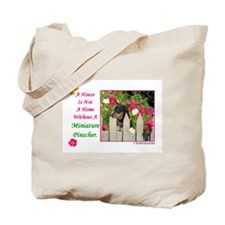 Cute Minpin Tote Bag