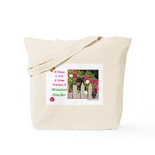 Unique Miniature pinscher Tote Bag