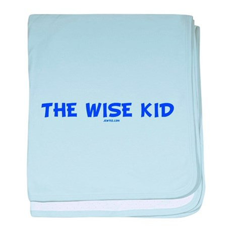The Wise Kid baby blanket